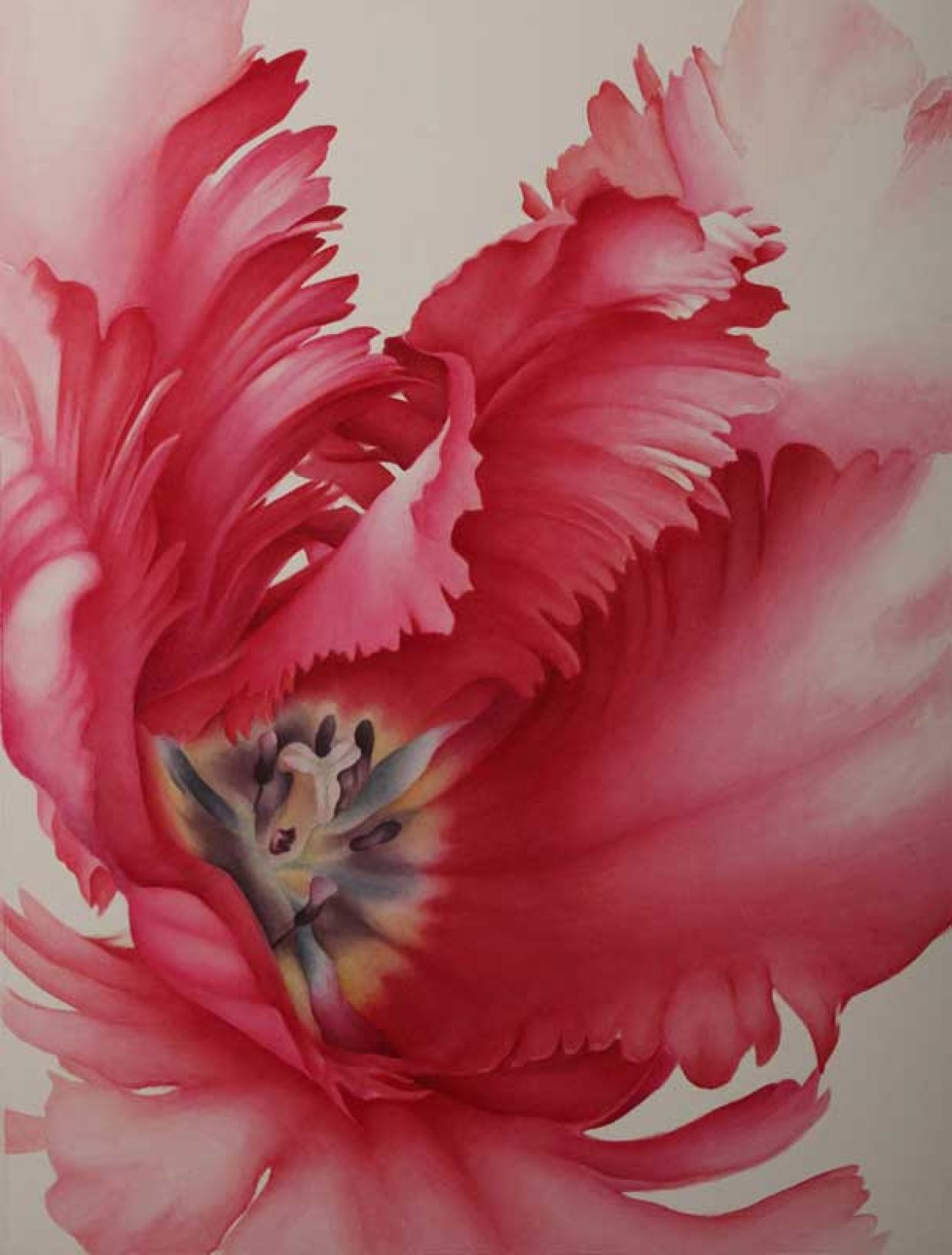 Raymond Brownell Prize, Name: Minako Watanabe, Title: tulip, Media: Water colour on paper